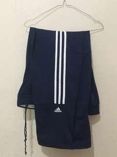 Adidas Trackpants Blue 3 Stripes
