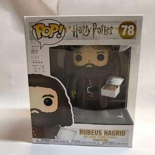 全新 Funko Pop 6吋 Hagrid (With Birthday Cake)