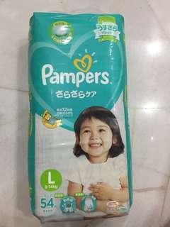 Pampers size L tape