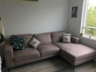 3 seater couch with a chaise