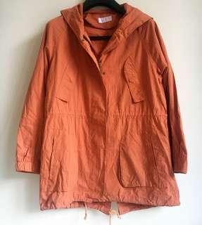 Orange Jacket Parka