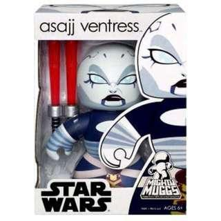 Star Wars SW Mighty Muggs - Asajj Ventress @ 30% off