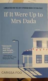 🚚 If It Were Up to Mrs Dada - Carissa Foo