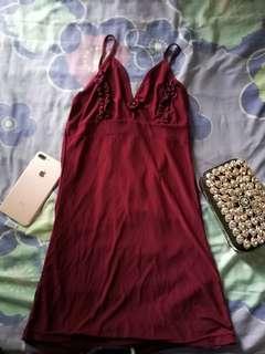 Marron sexy dress