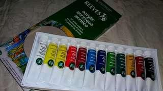 Reeves water colour paint 12 colours