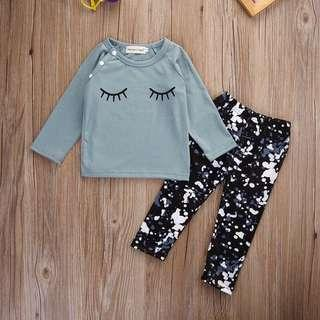 🚚 Girls Shirt and Pants Set