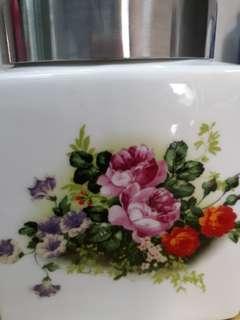 Avon porcelain jar