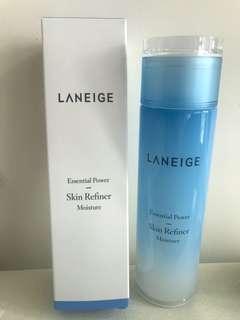 [全新。包郵]Laneige Essential Power Skin Refiner Moisture 水庫凝肌爽膚水 200ml