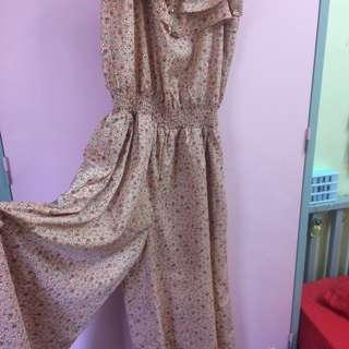 PL Floral Jumpsuit  #18sale