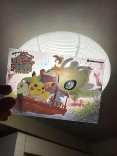 Pokémon store限定 透明膠卡