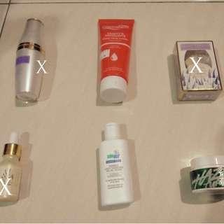 Lelong murahh skin care, sunscreen,toner,lotion,serum,oil