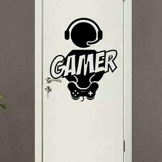Wall Decal Gaming Gamer