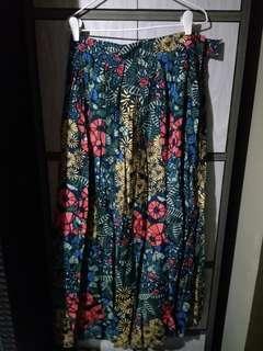 Long florat skirts