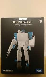 Takara Tomy 日版 Transformers 變形金剛 Soundwave 音波 白色 music label Apple ipod style 無印 sound wave G1