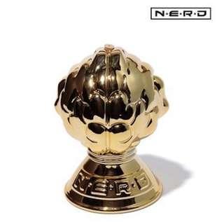🚚 NEIGHBORHOOD X NERD 永生樂團 PHARRELL 聯名 陶瓷薰香座 日本限定金色