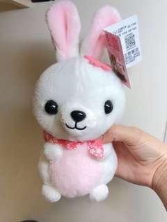 🚚 (二手)白色兔兔🐰娃娃