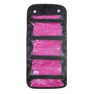 🚚 Folding Multi-Use Cosmetic Big Capacity Storage Makeup Bag