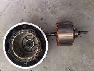 Repair scooter Moto