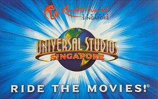 🚚 Universal Studio Singapore Tickets