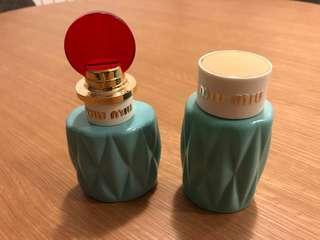 Miu Miu Eau de Parfum & Lotion (Authentic)