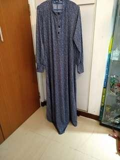 Plus size long dress