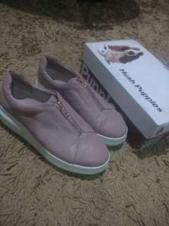 Sepatu Platform hush puppies in rose pink