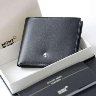 [BNIB] Montblanc Meisterstuck 6cc Wallet (Comes with Engraving Voucher)