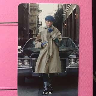 WTS YOON Everyd4y Photocard