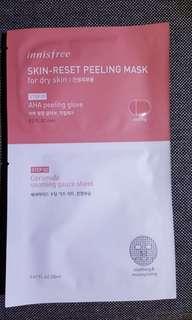 🚚 Innisfree Skin-reset Peeling Mask (Dry skin)