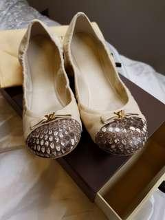 Authentic Louis Vuitton- Ballet Flats
