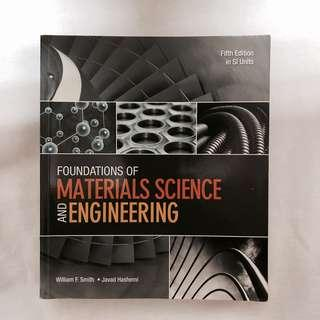 🚚 Foundations of Materials Science and Engineering