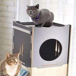 Now instock! Pet bed with hammock
