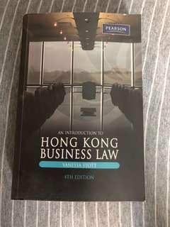 HONG KONG BUSINESS LAW - Pearson