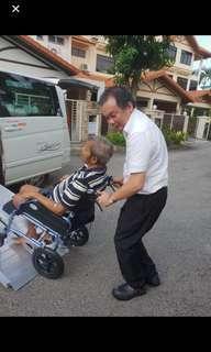 🚚 Wheel chair transportation service