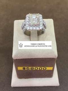 🚚 Diamond ring 4.06carat