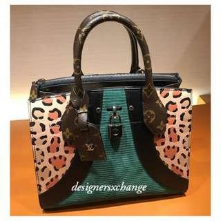 Louis Vuitton City Steamer PM Bicolor Leopard Patterns Leather Brand New (Limited Edition with Receipt) M52126