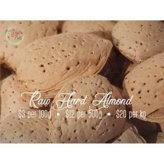 Raw Hard Shell Almond