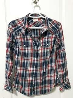 Levi's Plaid Shirt, Size M