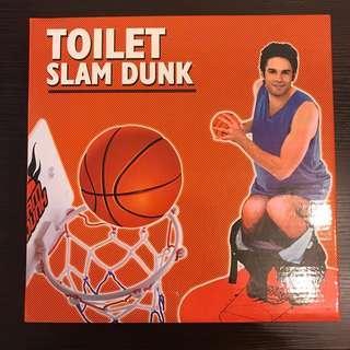 廁所解悶籃球set🏀 Toilet Slam Dunk
