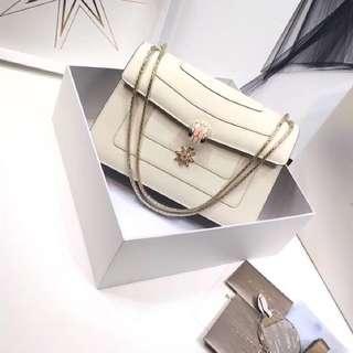 Bvlgari style serpenti bag 同款 28cm 雙層 蛇頭