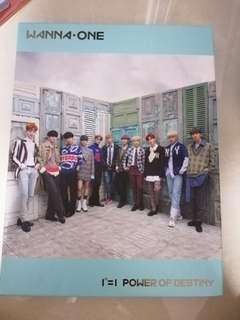 wts Wanna One POD UNSEALED WITH PC