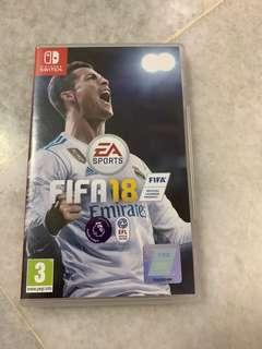 Fifa18 for Nintendo Switch