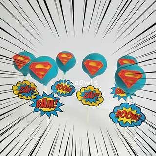 Superman Cake Pop 😤