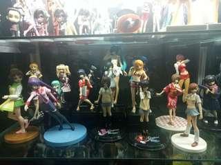 anime girls figures