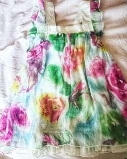 Toddler/kids floral dress for 2 yrs