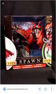Mcfarlane - Spawn The Evolution Boxed Set - Spawn V and 1 Misb