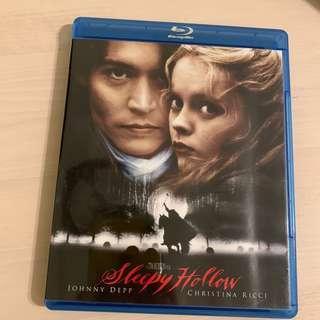 Blu Ray 無頭谷 Sleepy Hollow 尊尼特普 美版英字