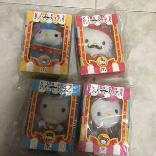Hello Kitty Circus of Life (lot of 4)