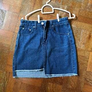 Ulzzang Denim Skirt