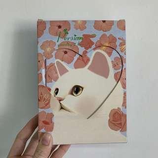 🚚 貓咪空白月曆本